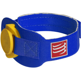 Compressport Timing Chipband blauw